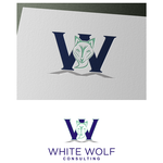 White Wolf Consulting (optional LLC) Logo - Entry #152
