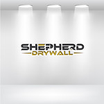 Shepherd Drywall Logo - Entry #99