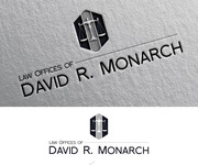 Law Offices of David R. Monarch Logo - Entry #40