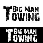 Big Man Towing Logo - Entry #6