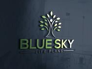 Blue Sky Life Plans Logo - Entry #82
