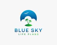 Blue Sky Life Plans Logo - Entry #416