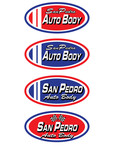 San Pedro Auto Body Logo - Entry #111