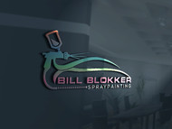 Bill Blokker Spraypainting Logo - Entry #133