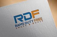 Rams Duty Free + Smoke & Booze Logo - Entry #133