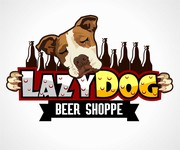 Lazy Dog Beer Shoppe Logo - Entry #21