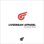 LiveDream Apparel Logo - Entry #536