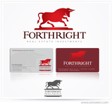 Forthright Real Estate Investments Logo - Entry #6