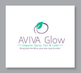 AVIVA Glow - Organic Spray Tan & Lash Logo - Entry #18