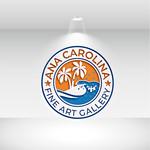 Ana Carolina Fine Art Gallery Logo - Entry #178