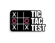 TicTacTest Logo - Entry #65