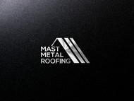 Mast Metal Roofing Logo - Entry #50