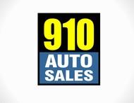 910 Auto Sales Logo - Entry #50