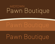 Either Midtown Pawn Boutique or just Pawn Boutique Logo - Entry #9