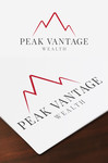 Peak Vantage Wealth Logo - Entry #260