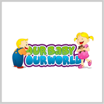 Logo for our Baby product store - Our Baby Our World - Entry #93
