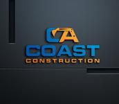 CA Coast Construction Logo - Entry #252