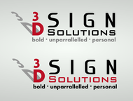 3D Sign Solutions Logo - Entry #195