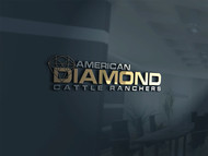 American Diamond Cattle Ranchers Logo - Entry #108