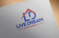 LiveDream Apparel Logo - Entry #35