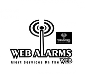 Logo for WebAlarms - Alert services on the web - Entry #92