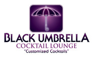 Black umbrella coffee & cocktail lounge Logo - Entry #142