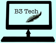 B3 Tech Logo - Entry #130