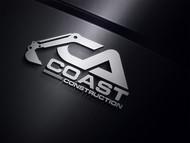 CA Coast Construction Logo - Entry #142