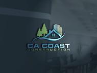 CA Coast Construction Logo - Entry #217