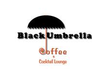 Black umbrella coffee & cocktail lounge Logo - Entry #23