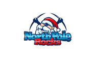 North Pole Rocks Logo - Entry #22