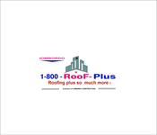 1-800-Roof-Plus Logo - Entry #117