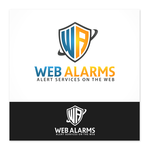 Logo for WebAlarms - Alert services on the web - Entry #165