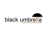 Black umbrella coffee & cocktail lounge Logo - Entry #103
