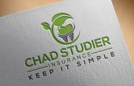 Chad Studier Insurance Logo - Entry #256