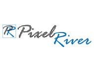 Pixel River Logo - Online Marketing Agency - Entry #133