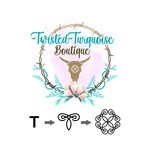 Twisted Turquoise Boutique Logo - Entry #173
