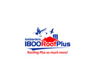 1-800-Roof-Plus Logo - Entry #4