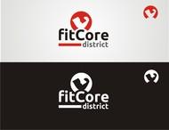 FitCore District Logo - Entry #63