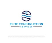 Elite Construction Services or ECS Logo - Entry #196