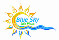 Blue Sky Life Plans Logo - Entry #356