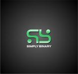 Simply Binary Logo - Entry #179