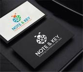 Note & Key Logo - Entry #31