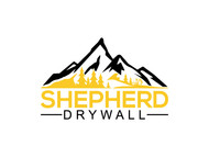 Shepherd Drywall Logo - Entry #144