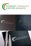 Durham Financial Centre Knights Logo - Entry #68