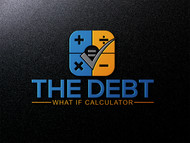 The Debt What If Calculator Logo - Entry #136