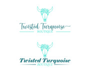 Twisted Turquoise Boutique Logo - Entry #96