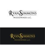 Woodwind repair business logo: R S Woodwinds, llc - Entry #1
