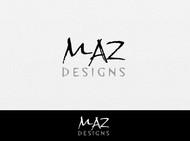 Maz Designs Logo - Entry #165