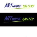 ArtMoose Gallery Logo - Entry #37